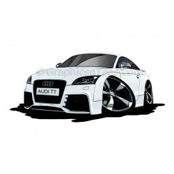 Audi TT Cartoon Caricature