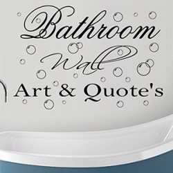 Bathroom Wall Art