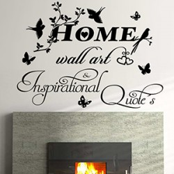 Home Wall Art and Inspirational Quotes