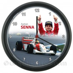 Ayrton Senna in the Mclaren F1, Wall Clock