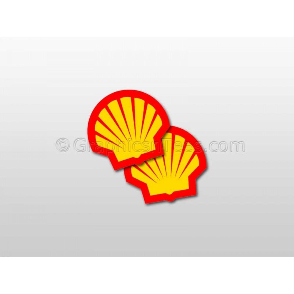 Shell Motor Oil Logo Stickers