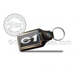 Citroen C1 Style Keyring