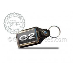 Citroen C2 Style Keyring