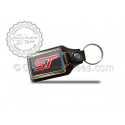 Ford ST Style Keyring (Colour Options Available), Mondeo, Focus, Fiesta, Transit