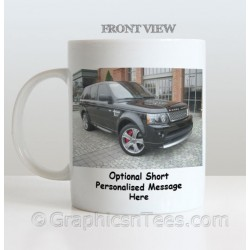 Personalised Mug With Your Own Car Picture Fantastic Unique Gift Idea