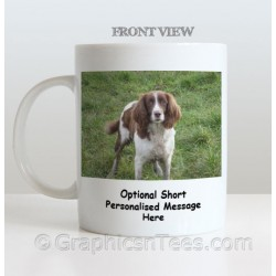 Personalised Pet & Name Printed on Quality White Ceramic 11oz Mug Ideal Gift