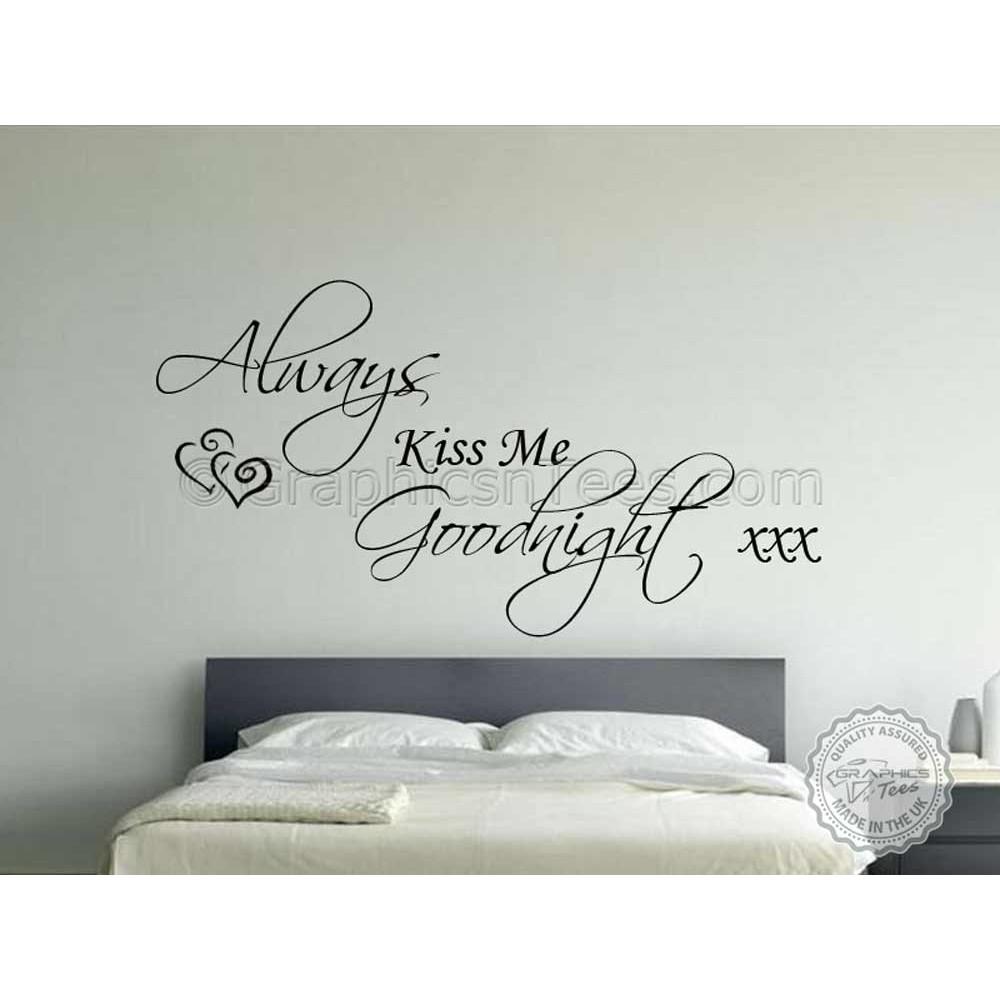 Bedroom Wall Sticker Quote Vinyl Mural