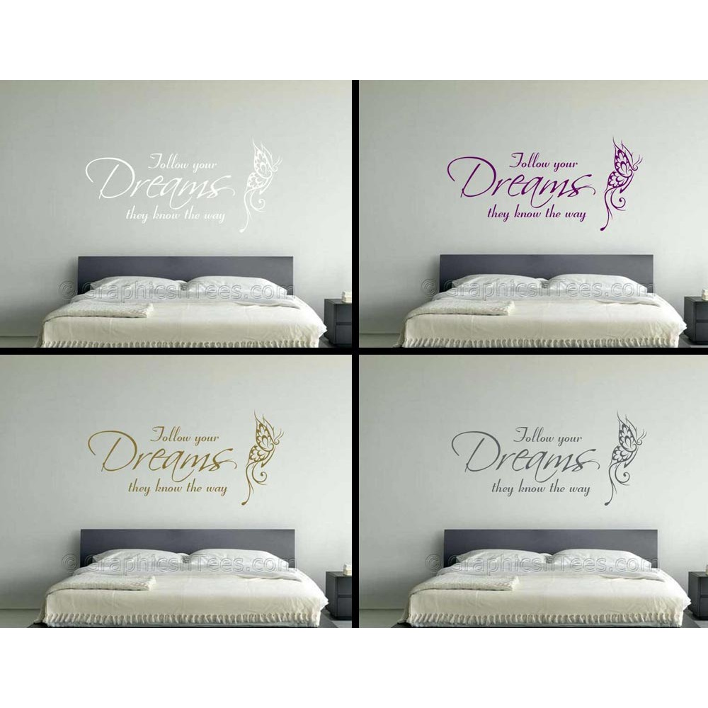 Follow Your Dreams Arrow Decal Arrow Decor Inspirational