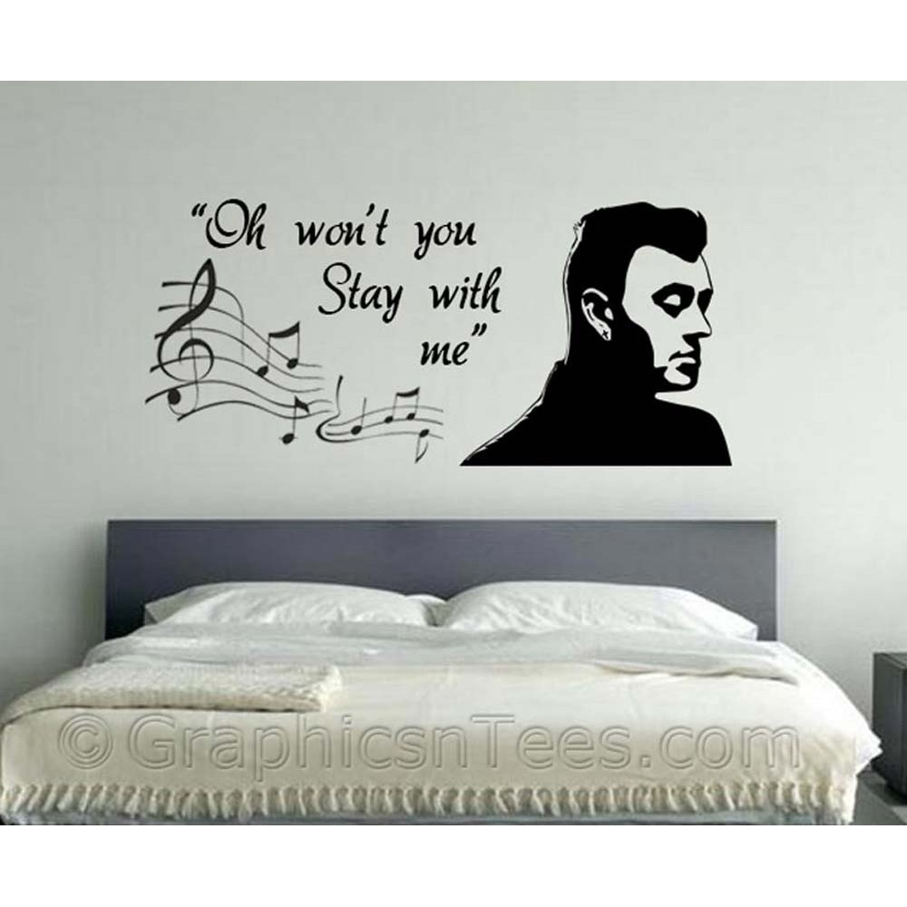 Sam Smith Stay With Me Song Lyrics, Romantic Bedroom Wall Quote ...