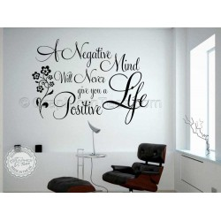 Buddha Inspirational Quote, Positive Life, Motivational Wall Sticker Decor Decal