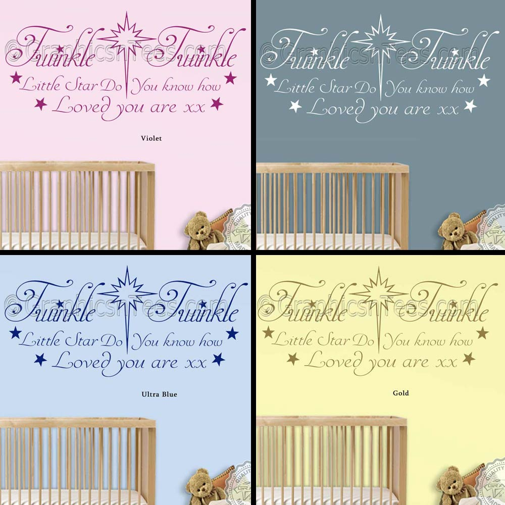 Do You Know How Loved You Are Baby Boys Girls Nursery Bedroom Wall ...
