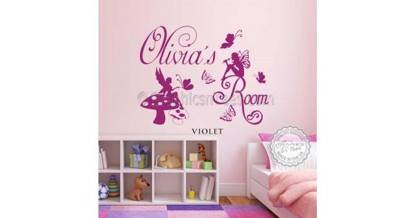 S Bedroom Nursery Wall Stickers
