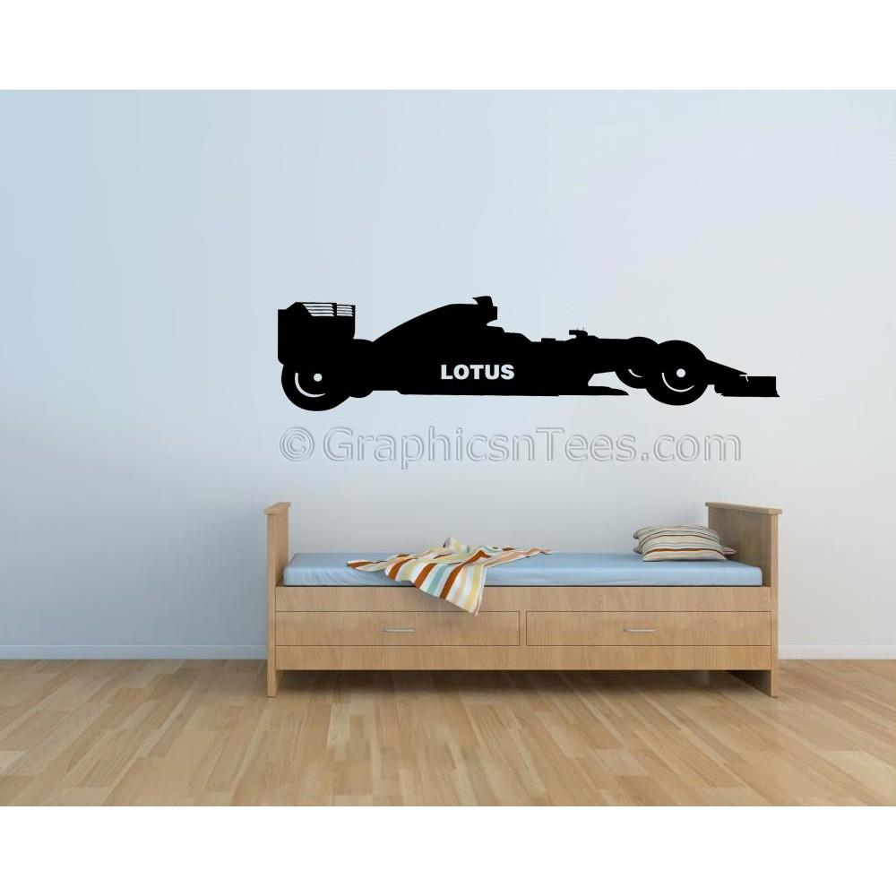 Lotus Formula 1 F1 Racing Car Wall Art Graphic Decal