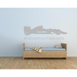 Mclaren F1 Formula 1 Racing Car Wall Art Graphic Decal