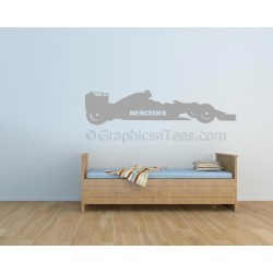 Mercedes AMG Formula 1 F1 Racing Car Wall Art Graphic Decal
