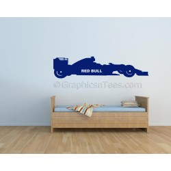 Red Bull Formula 1 F1 Racing Car Wall Art Graphic Decal