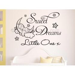Personalised Nursery Wall Sticker, Winnie The Pooh Bedroom ...