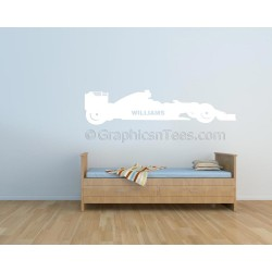 Williams Formula 1 F1  Racing Car Wall Art Graphic Decal