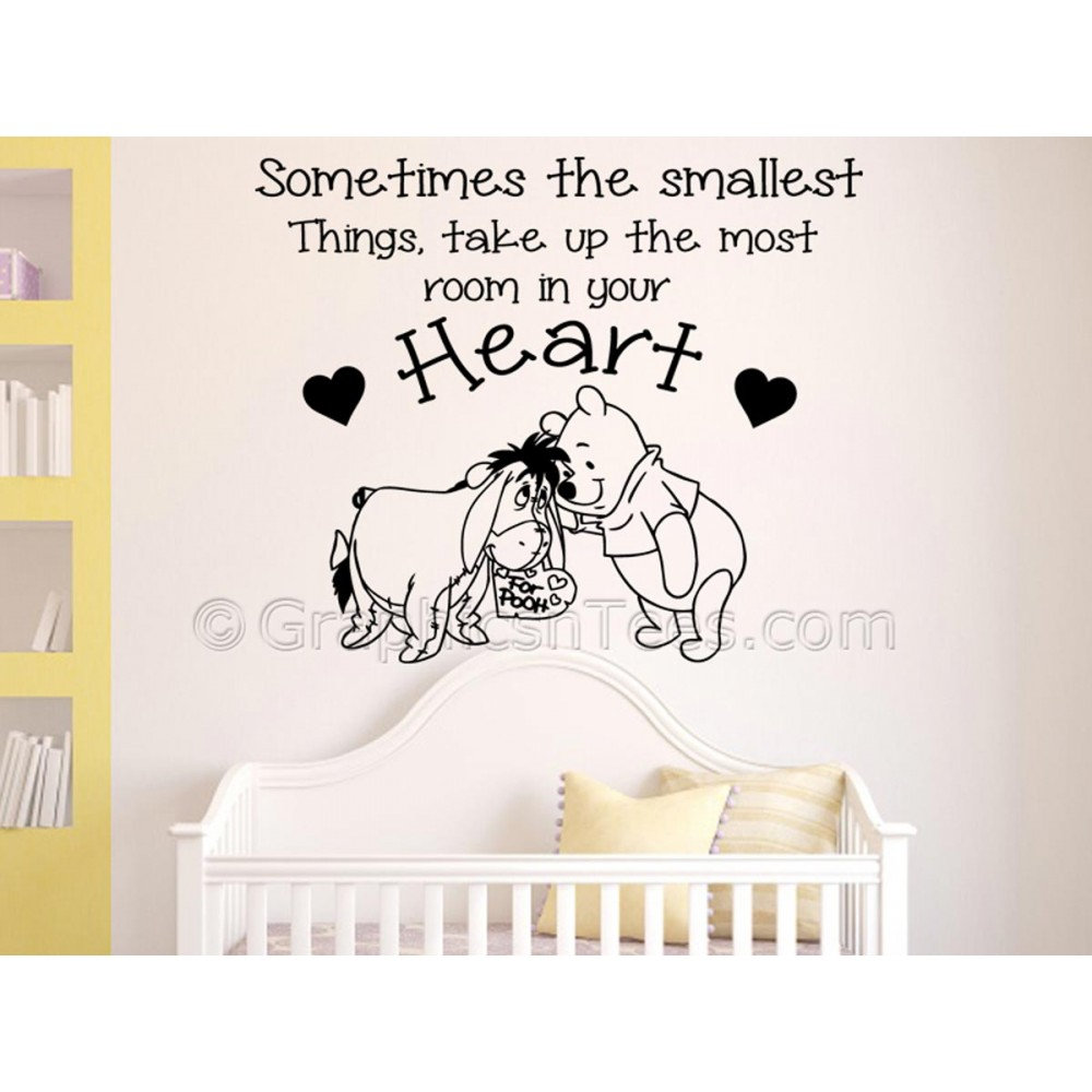 Winnie The Pooh Quotes Sometimes The Smallest Things: Winnie The Pooh And Eeyore, Sometimes Smallest Things