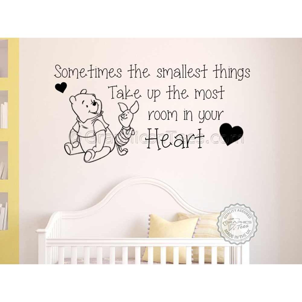 Nursery Wall Sticker Winnie The Pooh