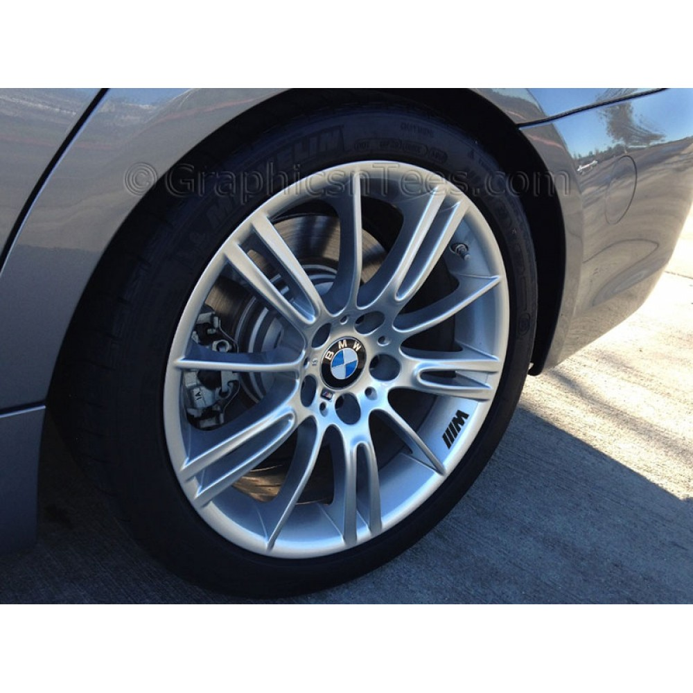 Bmwcarimage: BMW M Tech/M Sport Alloy Wheel Decals