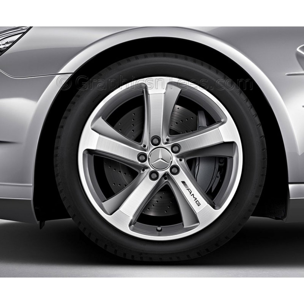 Mercedes Amg Alloy Wheel Decals