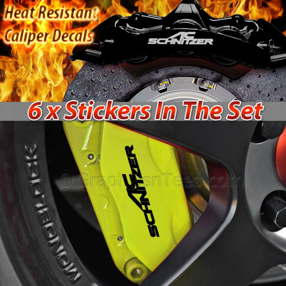 AP Racing Brake Caliper Decals - Bmw brake caliper decals
