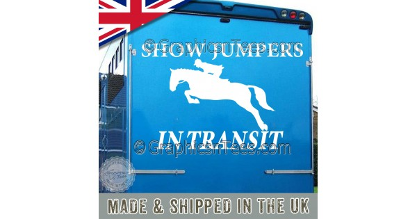 Horsebox//Trailer//car Horse Stickers Decals Graphics Dressage Showing Eventing