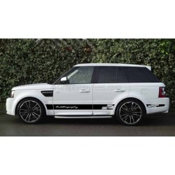 Range Rover Sport Autobiography Style Custom Side Stripe Stickers, Vinyl Graphic Decal - Portal