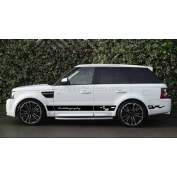 Range Rover Sport Autobiography Style Custom Side Stripe Stickers, Vinyl Graphic Decal - GP