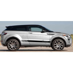 Range Rover Evoque Custom Side Stripe, Vinyl Graphic Decals Stickers Drift