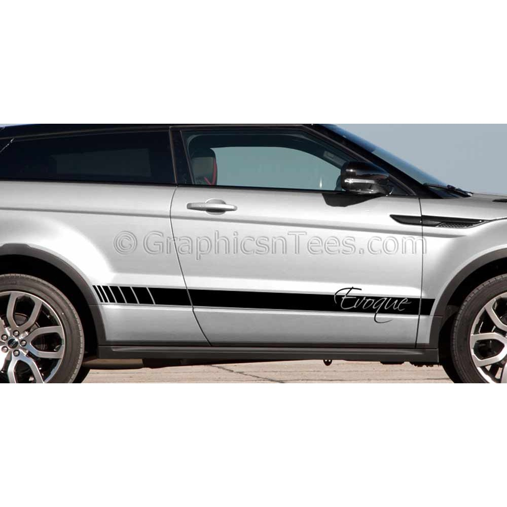 Range Rover Evoque Custom Side Stripe Vinyl Graphic