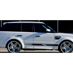 Range Rover Sport Custom Side Stripe, Vinyl Graphic Decals Stickers Drift