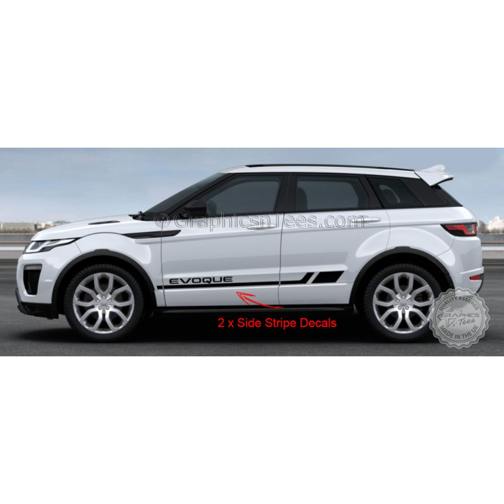 Range Rover Evoque Decal Sticker Set Vinyl Graphics