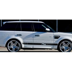 Range Rover Sport Custom Side Stripe, Vinyl Graphic Decals Stickers Exec