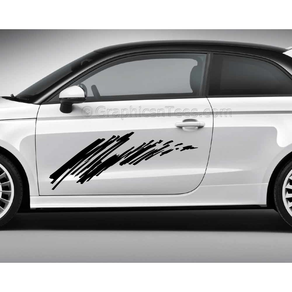 Car Stickers Custom Vinyl Graphic Decals Scribble - Vinyl graphics for a car