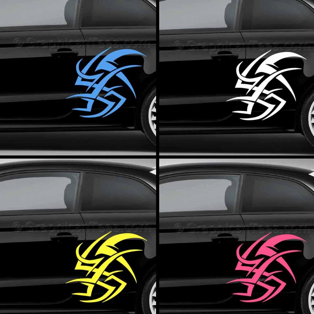 Car Graphics Tribal Car Stickers Custom Vinyl Graphic