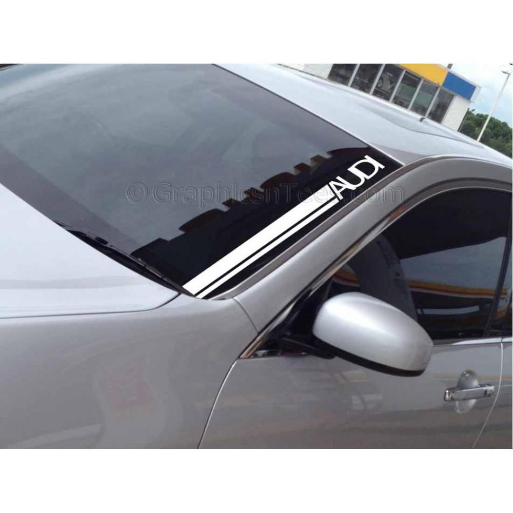 Audi Windscreen Sticker Decal Graphic