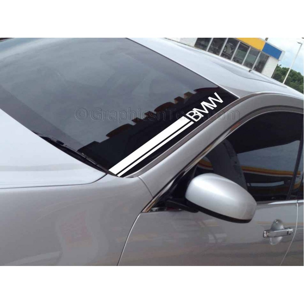 Bmwcarimage: BMW Windscreen Sticker Decal Graphic