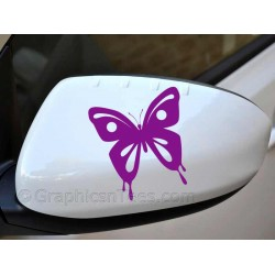 Butterfly Wing Mirror Bumper Car Body Stickers