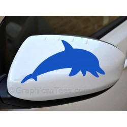 Dolphin Sticker Wing Mirror Bumper Car Body Stickers
