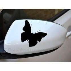 Butterfly Wing Mirror, Bumper, Car Body Stickers