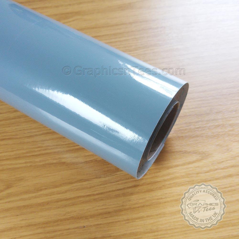 medium grey self adhesive gloss fablon sticky back plastic. Black Bedroom Furniture Sets. Home Design Ideas