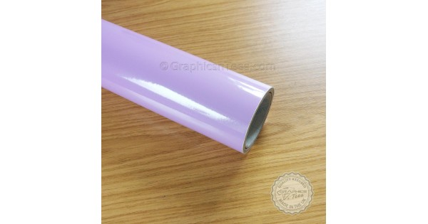 STICKY BACK PLASTIC A4 SHEET LILAC GLOSS SELF ADHESIVE VINYL